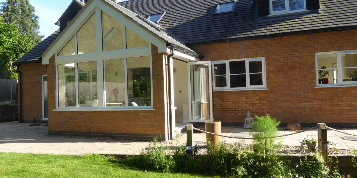 Architectural design for a single storey rear extension