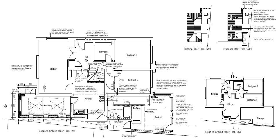 Tcds plans architectural plans for garage conversions for Building garage plans free uk